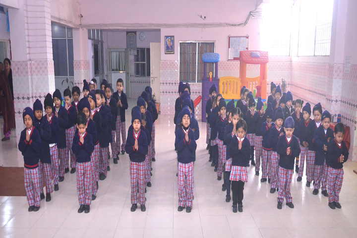 Guru Nanak Model School-Meditation