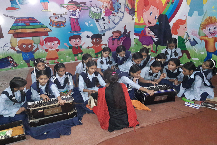 Guru Nanak Model School-Music Room