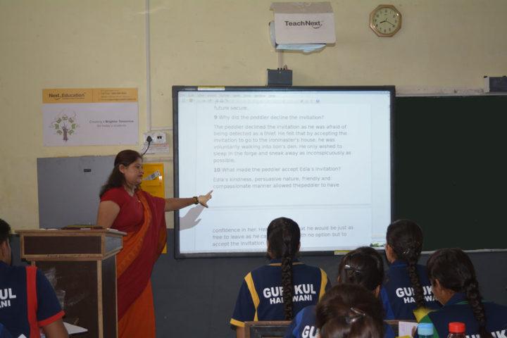Gurukul International School-Smart ClassRooms