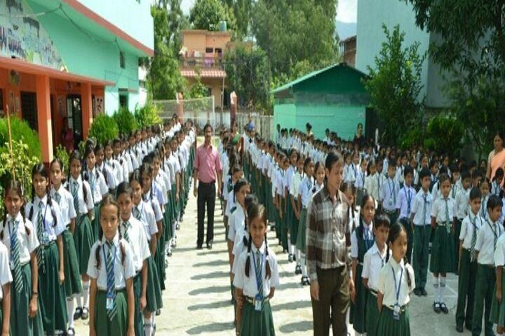 Gyan Bharti Public Shcool-Assembly