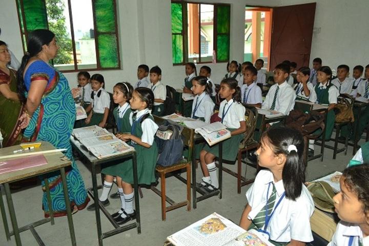 Gyan Bharti Public Shcool-Classrooms