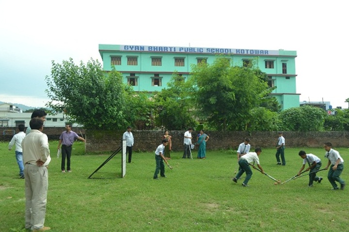 Gyan Bharti Public Shcool-Sports