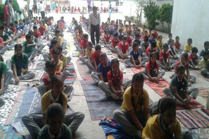 Gyan Bharti Public Shcool-Yoga