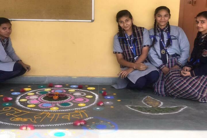 Himalaya Vidya Mandir-Rangoli Competition