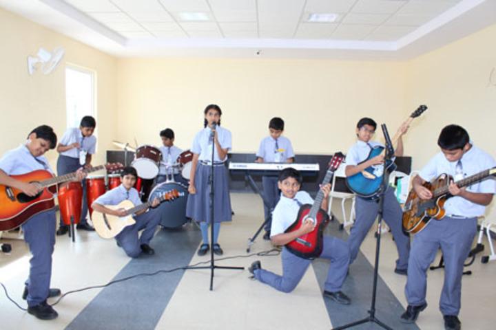 Green Field School-Music Rooms