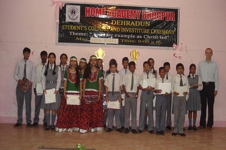 Home academy-Prize Distribution
