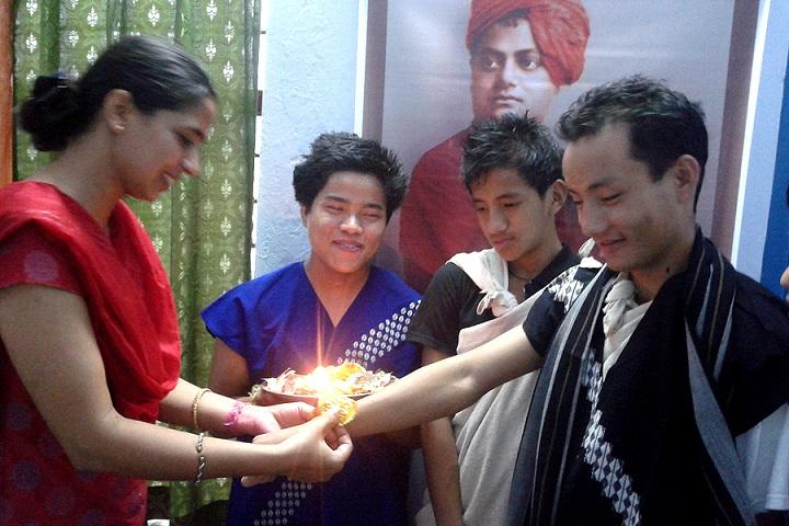 Information Technology Institute For The Tribes Of India-Rakhi Celebration