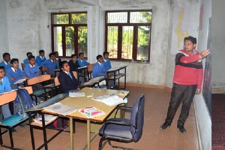 J P International Public School-Classroom