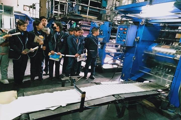 Jai Arihant International School-Industrial Visit