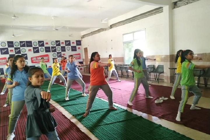 Jai Arihant International School-Karate