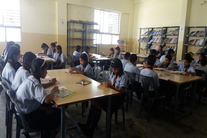 Jai Arihant International School-Library