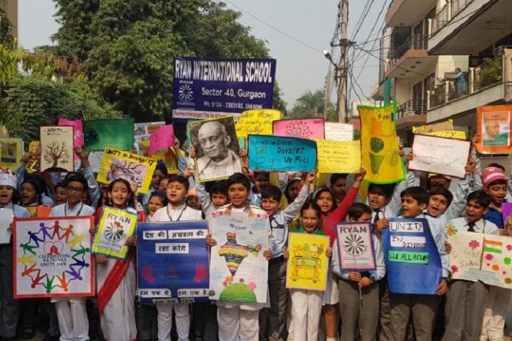 Ryan International School-National Unity Day