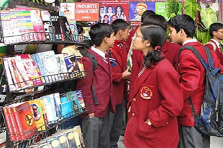 Jaswant Modern School-Library