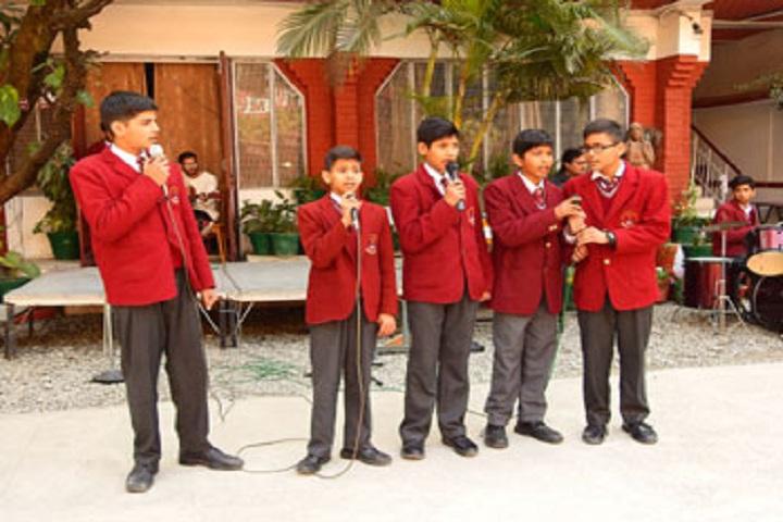 Jaswant Modern School-Singing