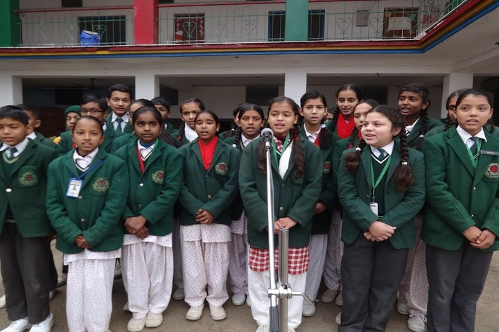 Jimp Pioneer School-Singing