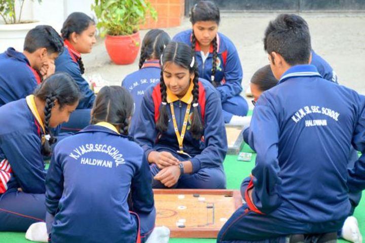 K V M Public School-Carroms Competition