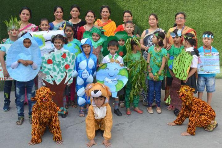 K V M Public School-Earth Day