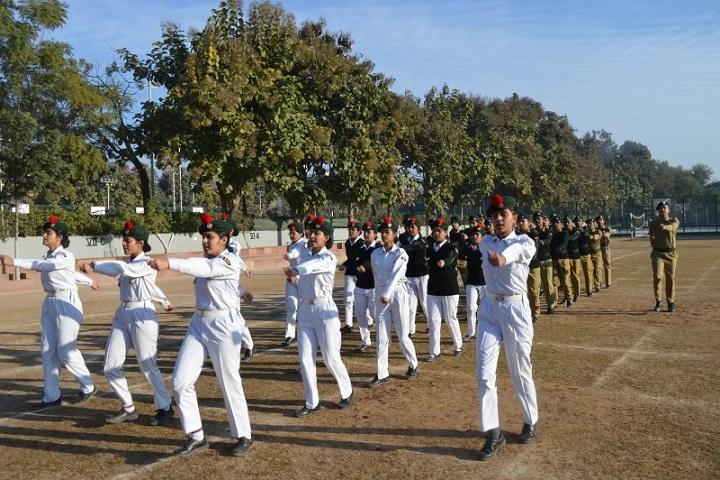 Saint Kabir Public School-NCC