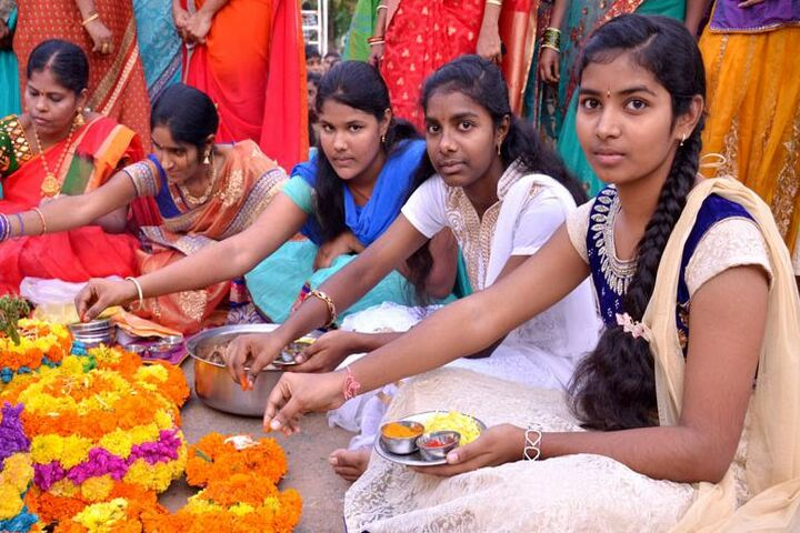 Greenwood High School-Bathukamma Celebrations