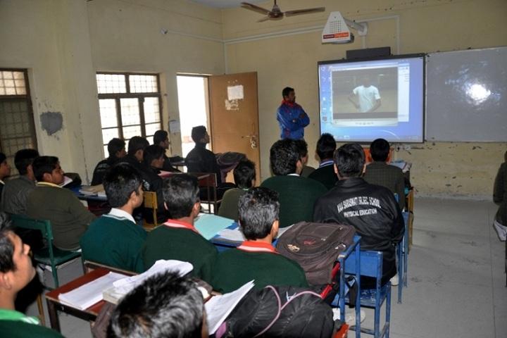 Maa Saraswati Public School-Classroom