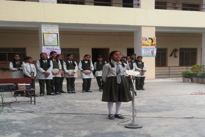 Maa Saraswati Public School-Singing Competition