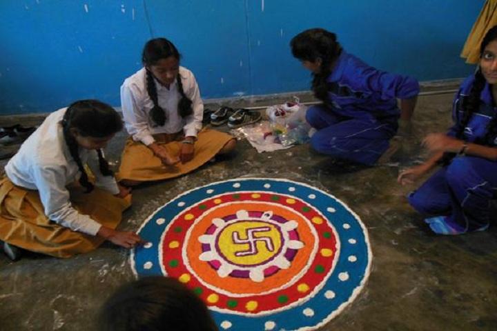 Maharishi Vidiya Mandir-Festival Celebration