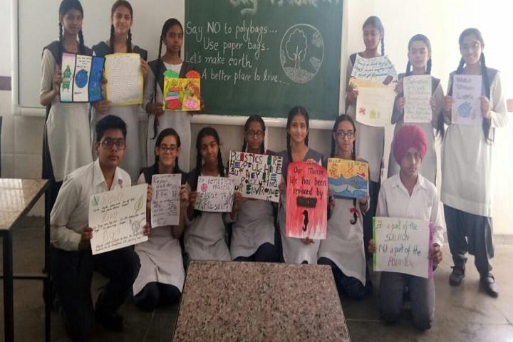 Shivalik Public School-Beat plastic pollution-Awareness