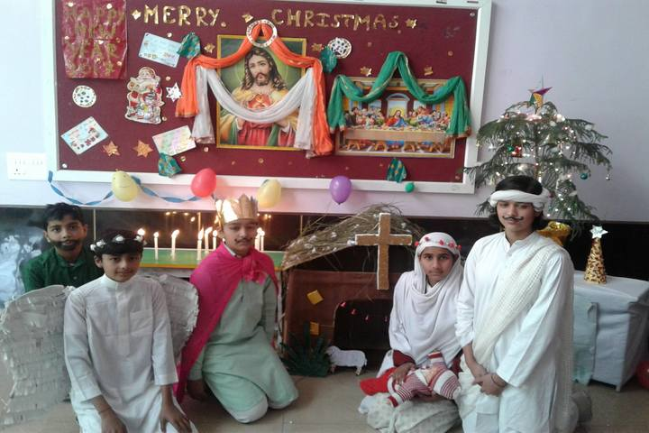 Mahavir International School-Christmas Celebrations