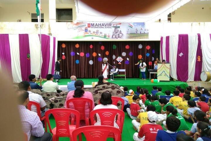 Mahavir International School-Independence Day
