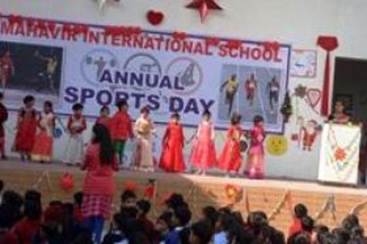 Mahavir International School-Sports Day