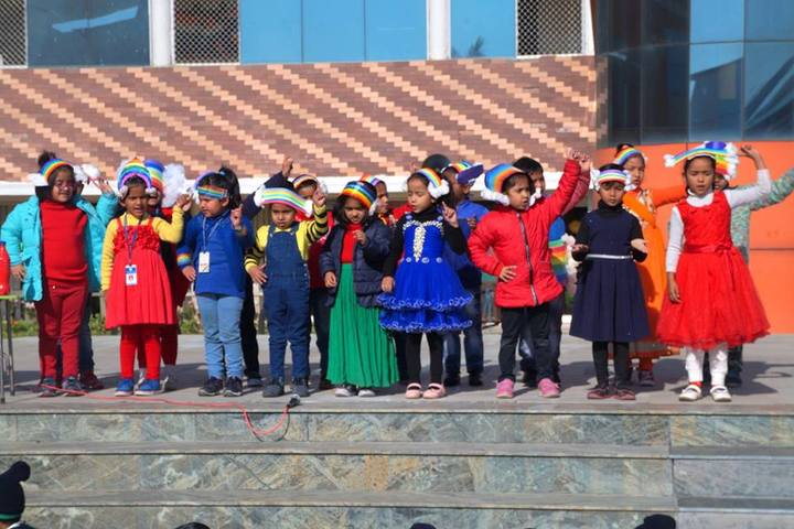 Mount Litera Zee School-Dance Activity
