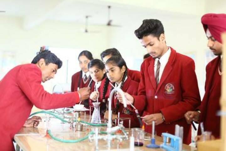 Nancy International School-Chemistry Lab