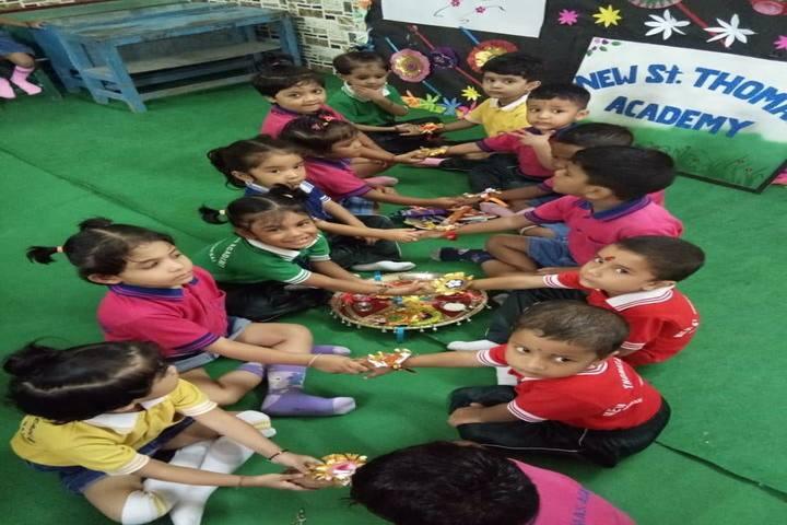 New St Thomas Academy-Rakhi Celebrations