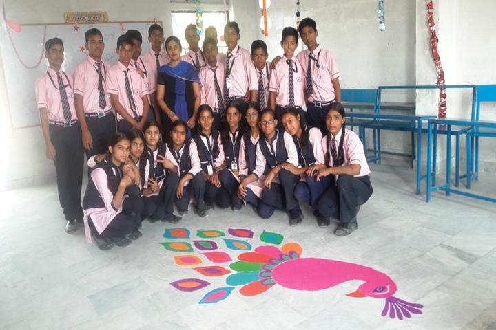 New St Thomas Academy-Rangoli Competition