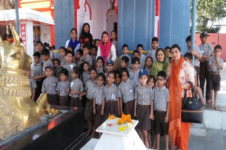 Nirmal Ashram Deepmala Pagarani School-Education Tour