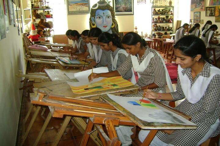 Nirmal Ashram Deepmala Pagarani School-Painting Competition