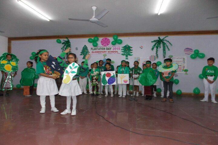 Nirmal Ashram Deepmala Pagarani School-Plantation Day Celebrations