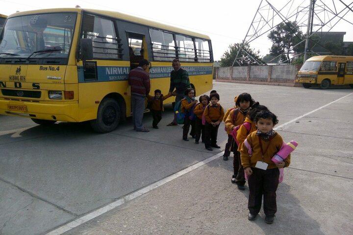 Nirmal Ashram Deepmala Pagarani School-Transport