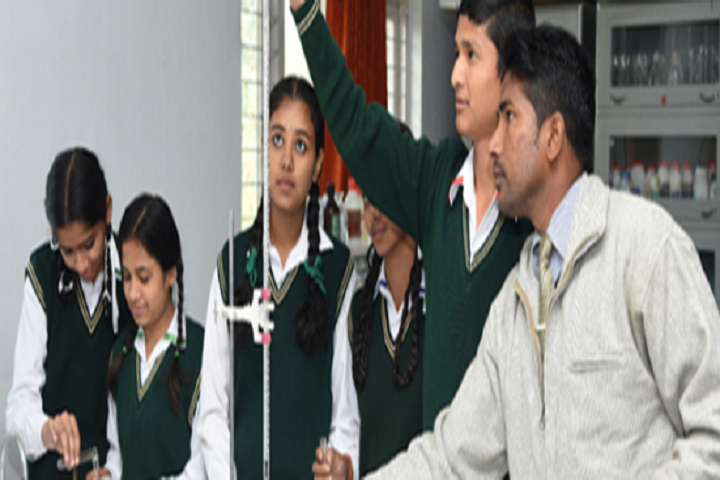 Nirmal Ashram Gyan Daan Academy-Chemistry Lab