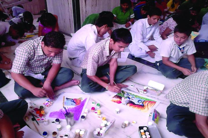 Nirmal Ashram Gyan Daan Academy-Painting Competiton