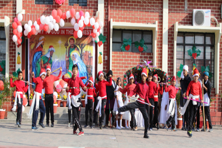 Nirmala Convent Senior Secondary School-Christmas Celebrations