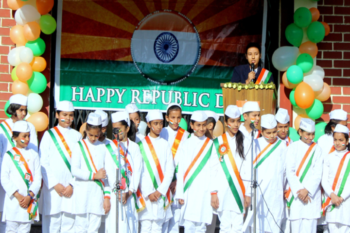 Nirmala Convent Senior Secondary School-Republic Day celebrations