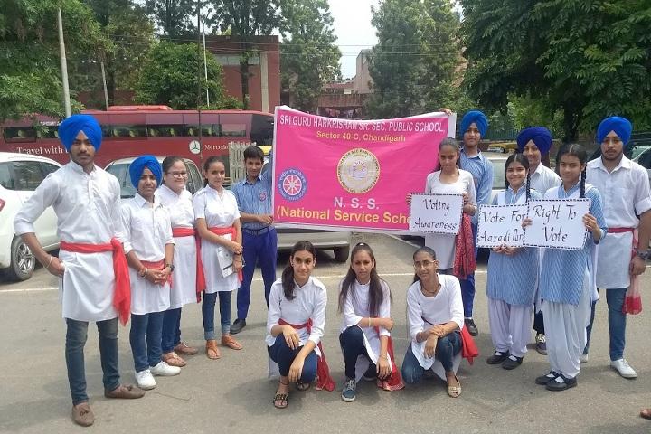 Sri Guru Harkrishan Public School-NSS
