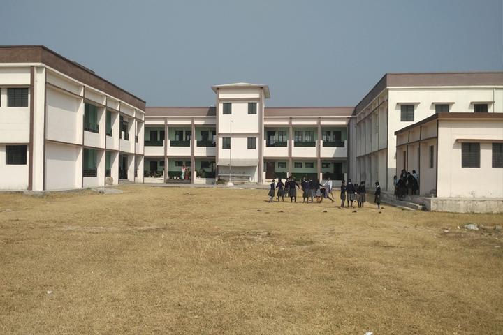Police Modern School-Campus View