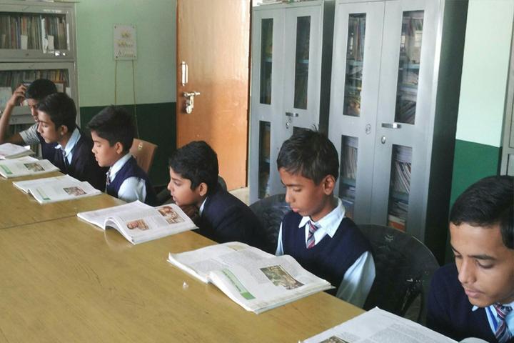 Police Modern School-Library