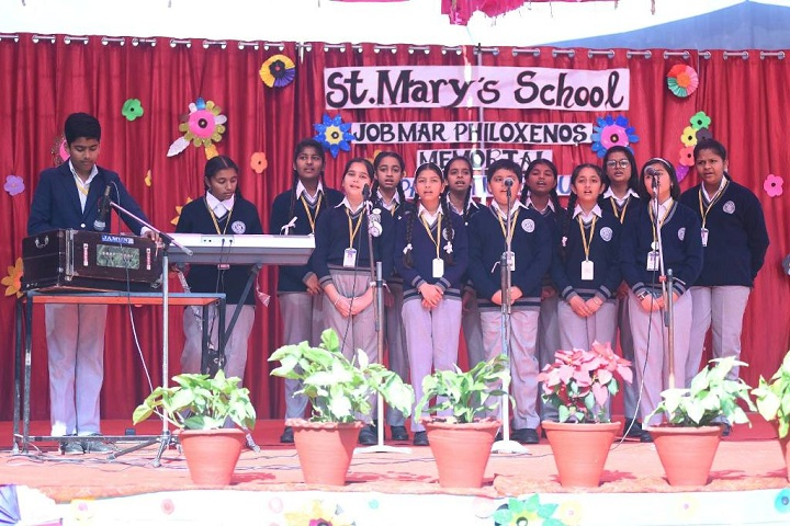 """""""St MaryS School-Singing Competition"""""""