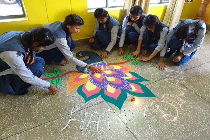 R C D Public School-Diwali