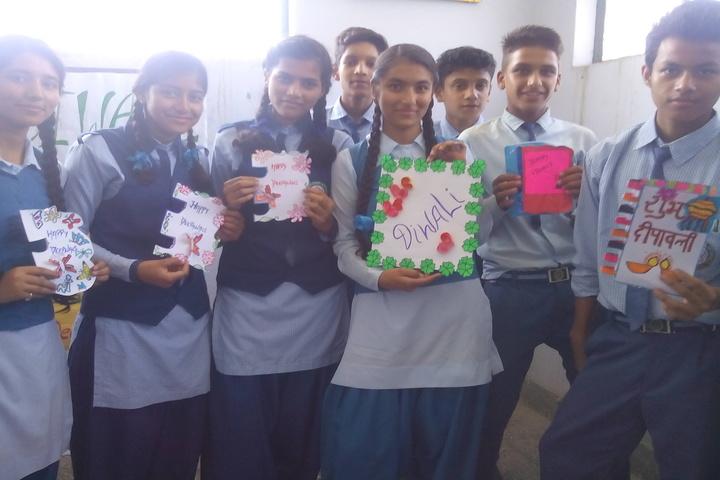 R C D Public School-Diwali Celebration