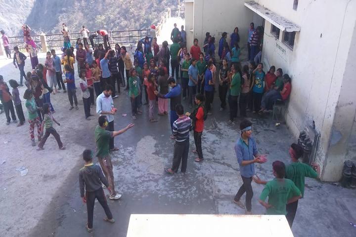 Rajeev Gandhi Navodaya Vidyalaya-Holi Celebrations
