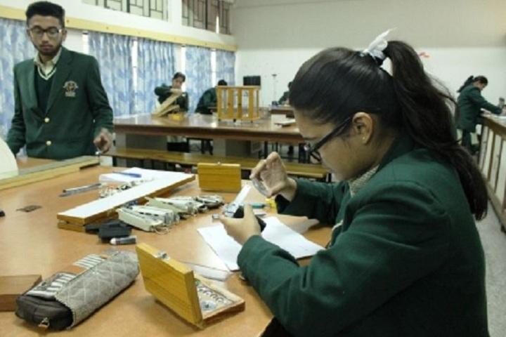 St Annes Convent School-Laboratory